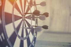 Dartboard arrow  business success concept Stock Image