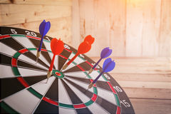 Dartboard arrow business success concept Royalty Free Stock Photo