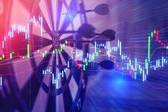 Dartboard arrow  business success concept Stock Photo
