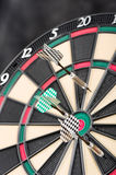 Dartboard and arrows Royalty Free Stock Photos