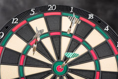 Dartboard and arrows Royalty Free Stock Image