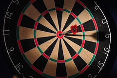 Dartboard as cutout Royalty Free Stock Photos