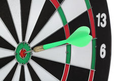 Dartboard bulls eye. Royalty Free Stock Photography