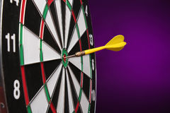 Dartboard bulls eye. Royalty Free Stock Photo
