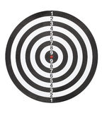 Dartboard bulls eye. Royalty Free Stock Image