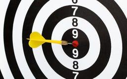 Dartboard bulls eye. Stock Images