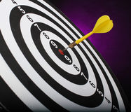 Dartboard bulls eye. Stock Photography
