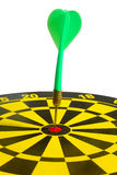 Dartboard bullseye. Stock Photography
