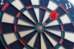 Dartboard bullseye royalty-vrije stock foto's