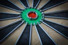 Dartboard Close Up Stock Image