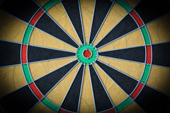 Dartboard Close Up Royalty Free Stock Photography