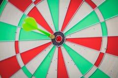 Dartboard with dart Royalty Free Stock Image