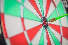 Dartboard with dart Royalty Free Stock Photos