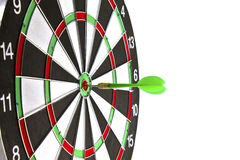 Dartboard with dart Stock Image