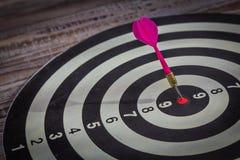 Dartboard (Darts Hit Target) Stock Image