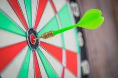 Dartboard  (Darts Hit Target) Stock Photo