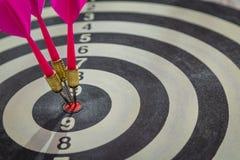 Dartboard(Darts Hit Target) Royalty Free Stock Images