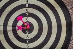 Dartboard  (Darts Hit Target) Stock Photography