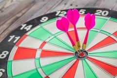 Dartboard  (Darts Hit Target) Royalty Free Stock Photo