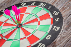 Dartboard  (Darts Hit Target) Royalty Free Stock Images