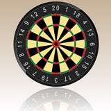 Dartboard Illustration Royalty Free Stock Images