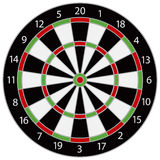Dartboard Illustration Royalty Free Stock Photo
