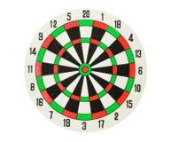 Dartboard isolado fotos de stock royalty free