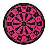 Dartboard isolated Royalty Free Stock Image