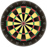 Dartboard isolated vector Royalty Free Stock Photography