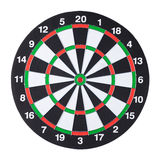 Dartboard isolated white background Royalty Free Stock Images