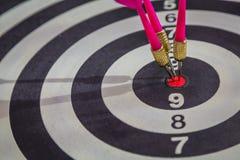 Dartboard l (Darts Hit Target) Stock Image