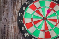 Dartboard l (Darts Hit Target) Royalty Free Stock Image