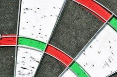 Dartboard macro shot Stock Images