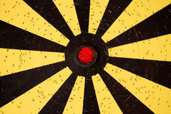 Dartboard target Stock Photography
