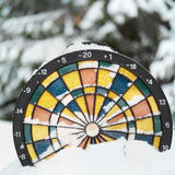 Dartboard Thermometer Royalty Free Stock Photo
