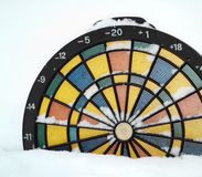 Dartboard Thermometer Stock Image