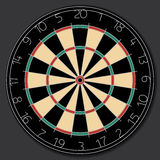 Dartboard vector Royalty Free Stock Images