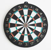 The dartboard on the wall Royalty Free Stock Photo