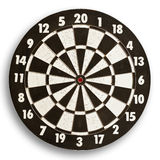 Dartboard  on white background. Stock Photos