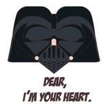 Darth Vader illustration libre de droits