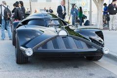 Darth Vader Car on display Stock Photos