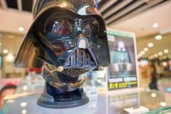 Darth Vader hjälm fotografering för bildbyråer