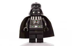 Darth Vader Lego Figure Royalty Free Stock Photos