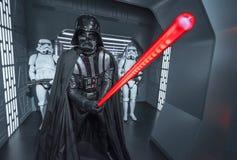 Darth Vader vaxdiagram fotografering för bildbyråer