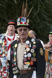 The Dartington Morris men performing Royalty Free Stock Image
