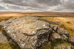 Dartmoor国家公园 库存图片