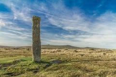 Dartmoor常设石头 库存图片