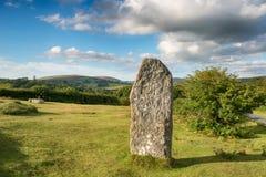 Dartmoor常设石头 免版税库存图片