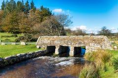 Dartmoor桥梁 免版税库存照片