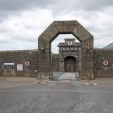 Dartmoor监狱入口门,英国英国 免版税图库摄影